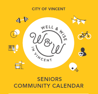 Well and Wise Seniors Community Calendar logo