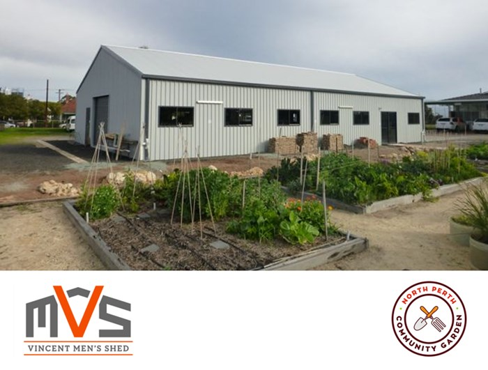North Perth Community Garden and Vincent Men's Shed
